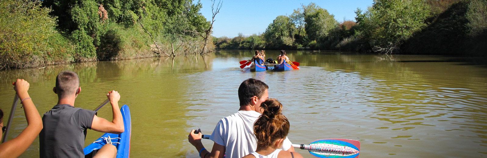 Escursioni in canoa e battelli